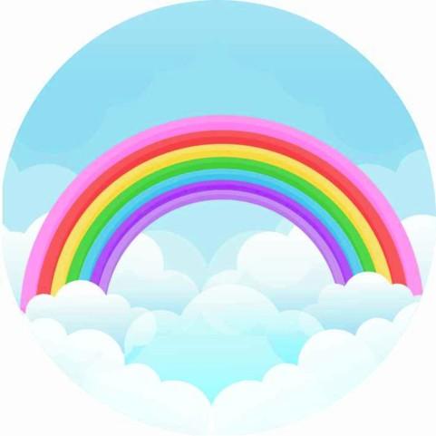 painel-redondo-arco-iris-decoracao